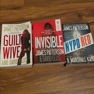 Lot of 3 books James Patterson